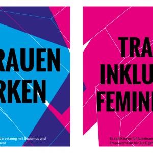Feministisches Spannungsfeld: Cis Frauen stärken - Trans* inklusiver Feminismus